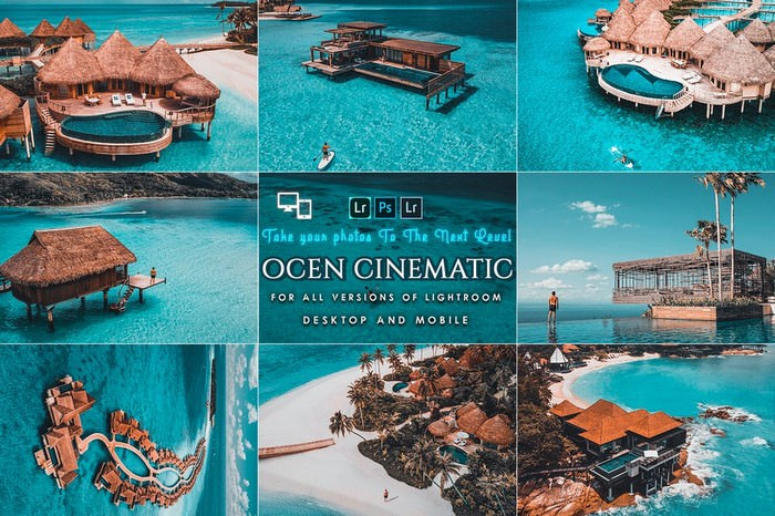Cinematic Ocean Presets For Mobile and Desktop