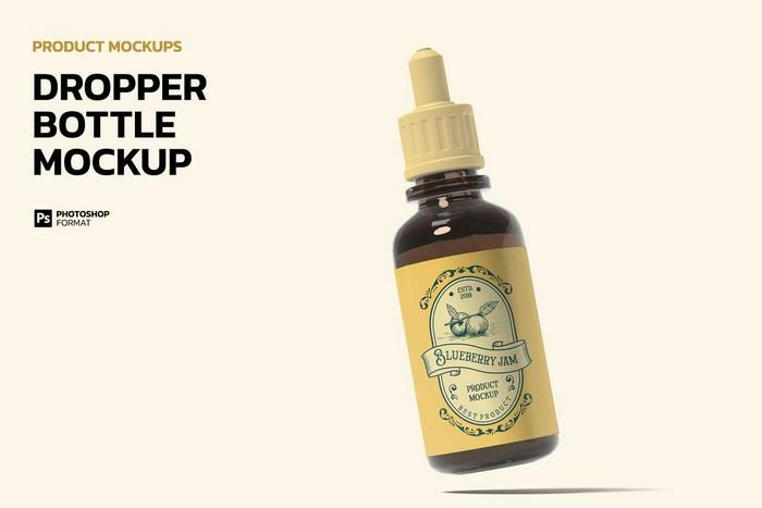 Dropper Bottle - Product Mockup