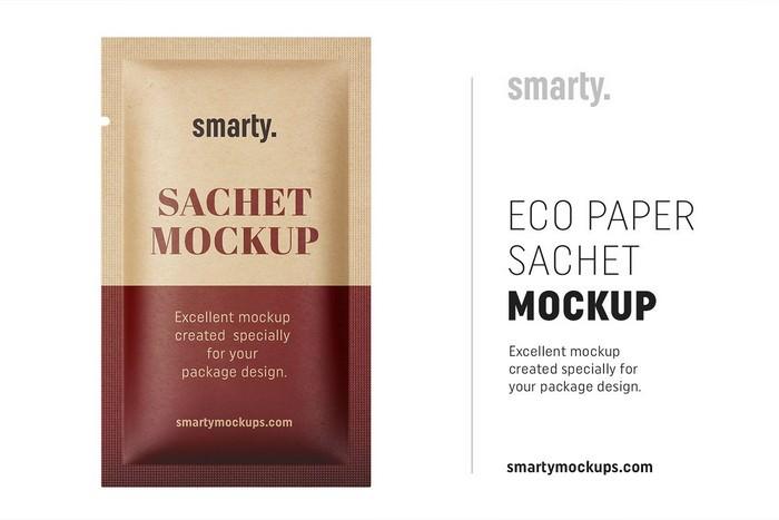 Eco paper sachete