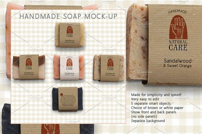 Handmade Soap Marketing Kit