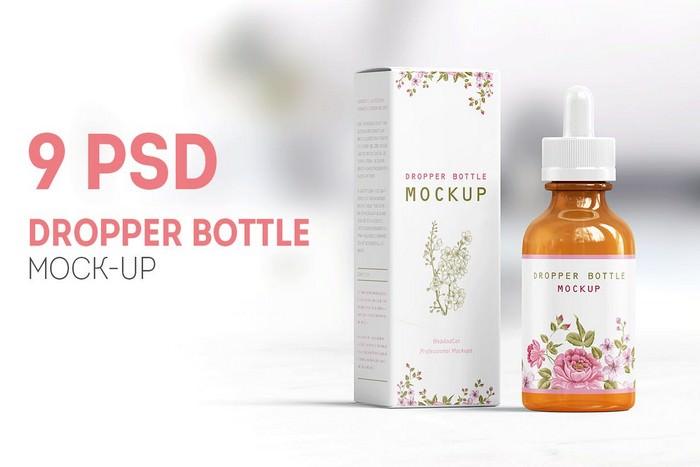 Multiangle Dropper Bottle Mock-up