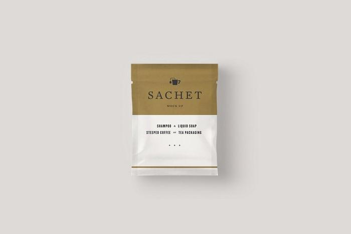 Sachet Mock Up for Packaging