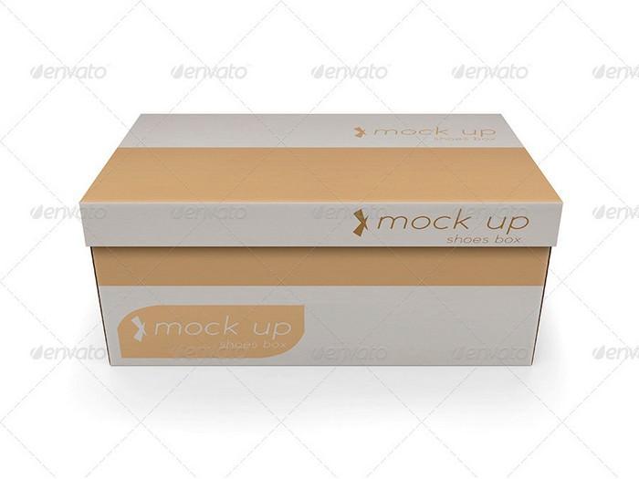 Shoes Box Mock-up