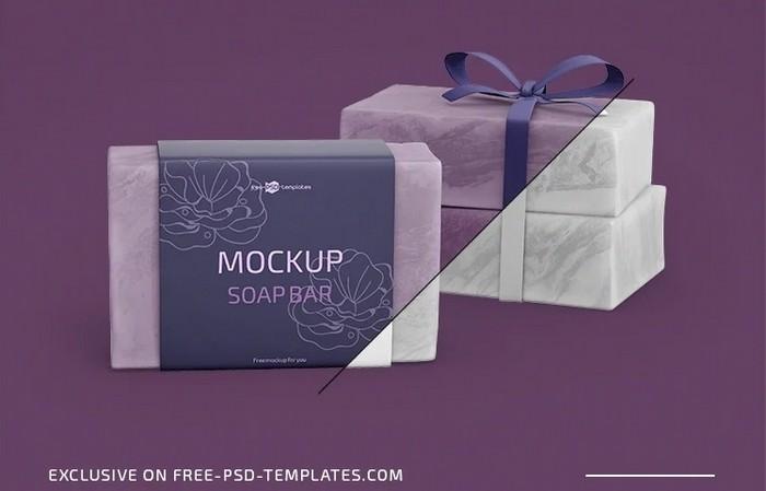 Soap Bar Mockup Template