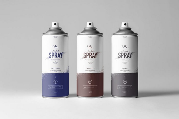 Spray Can Mock-up