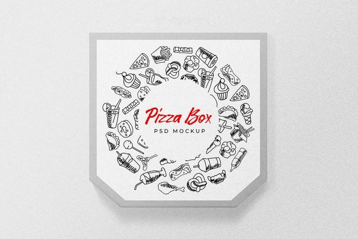 Super Pizza PSD Box Mock-up