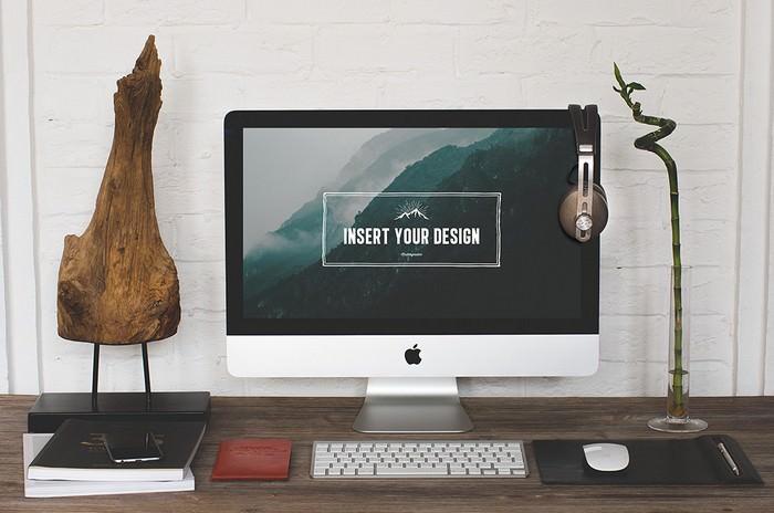 2 Hip Desktop Mockups