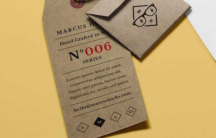 Branding Label MockUp