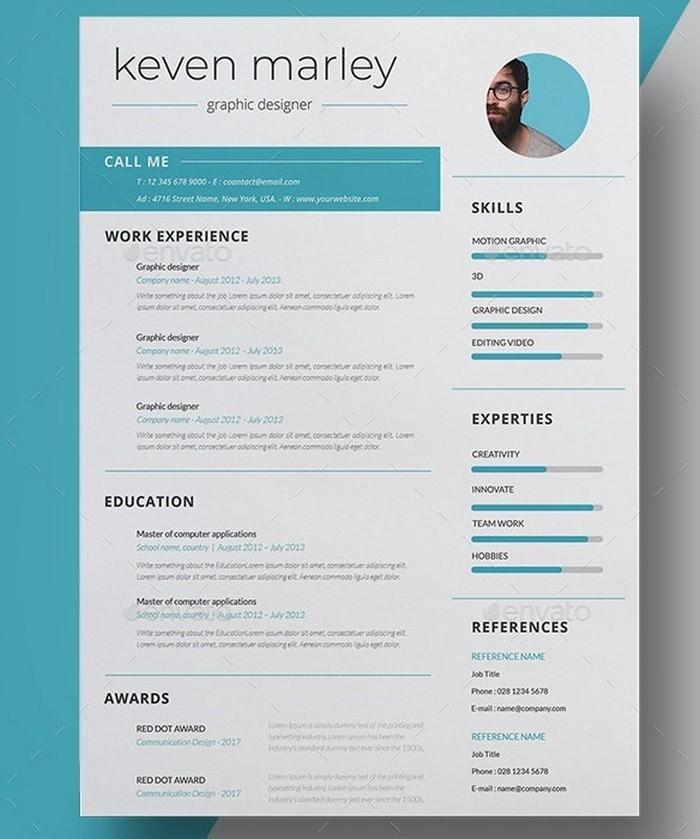 Clean Resume -CV