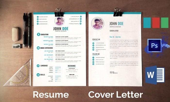 Clean Resume Mockup
