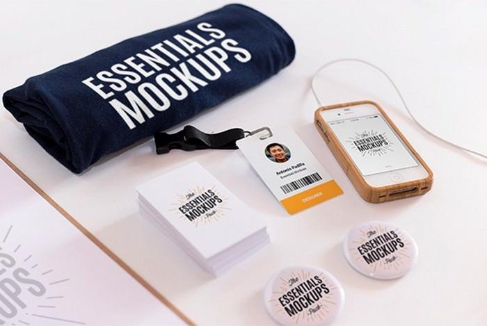 Essentials Mockups