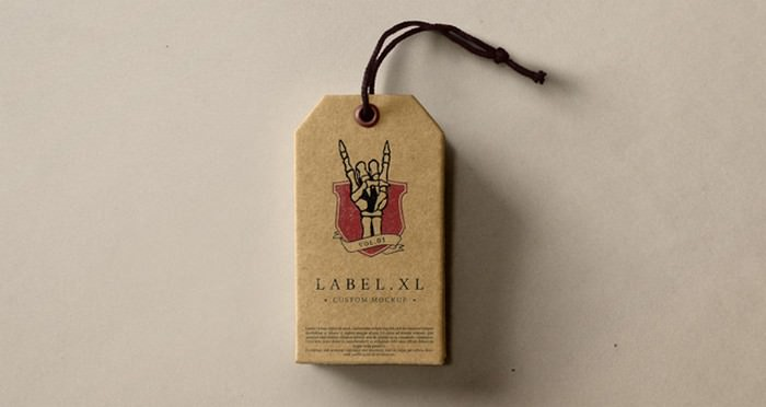 Label Brand Mockup Vol1