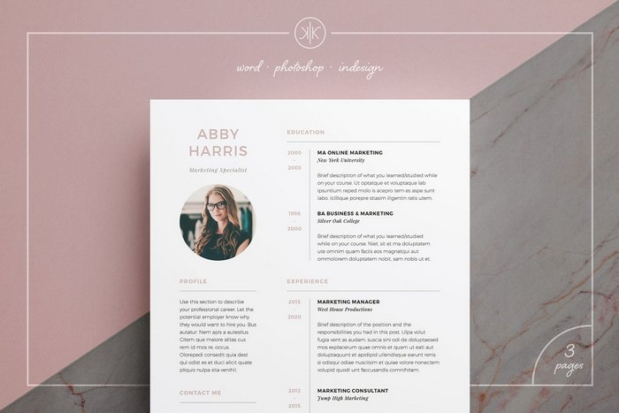 Resume - CV Abby