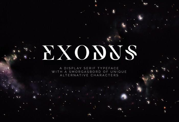 Exodus - Free Typeface