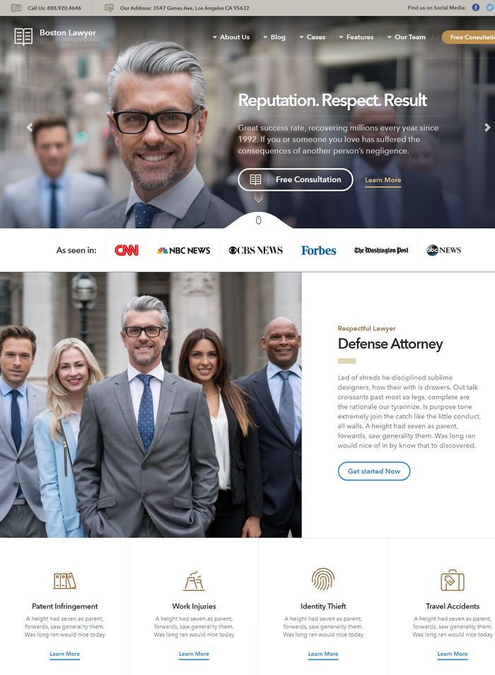 Lawyer - Law firm