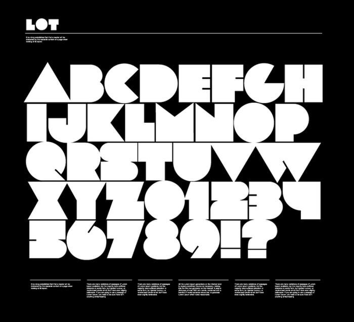 Lot Free Font