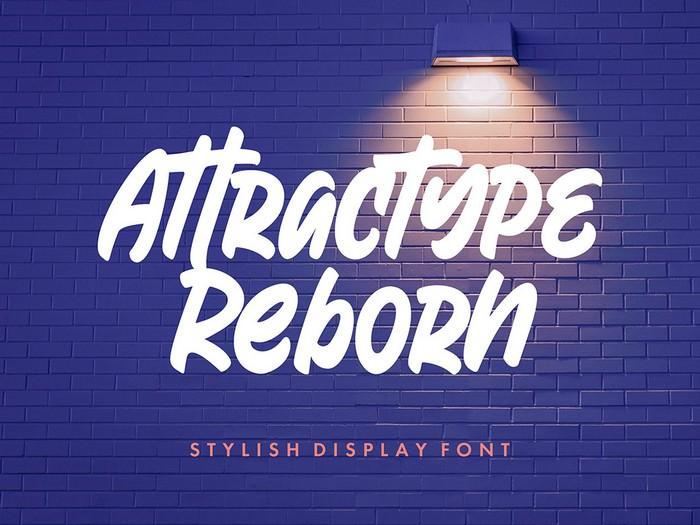 Reborn Display Font