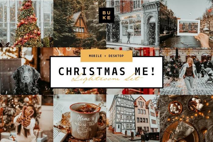 8 Christmas Me! Lightroom Bundle