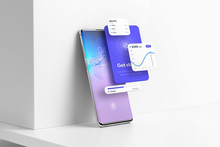 Android Smartphone Mockup