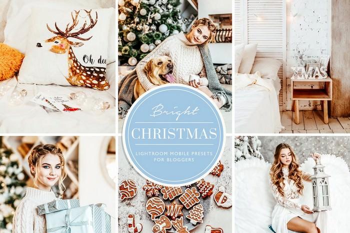 Christmas Blogger Lightroom presets