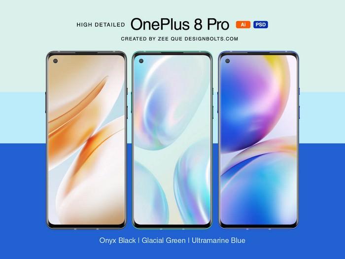 OnePlus 8 Pro Mockup
