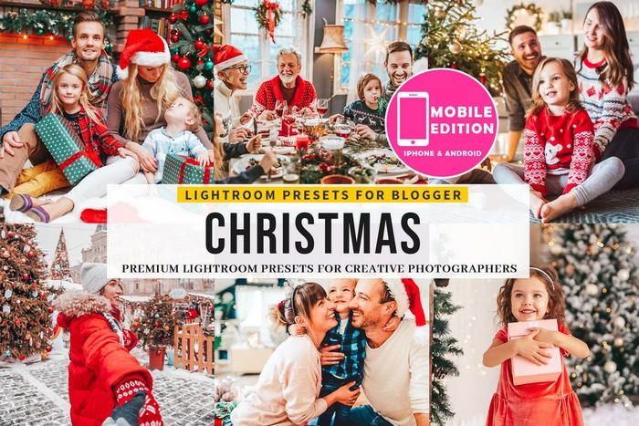 Premium Christmas Lightroom Presets