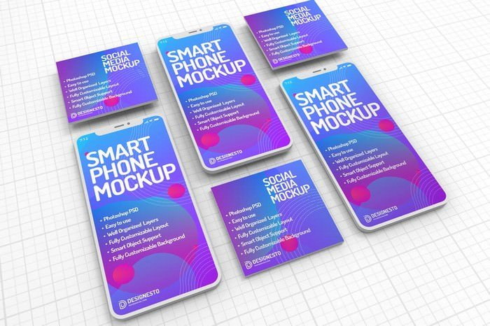 Smartphone – Mockup Template