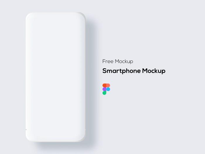 Smartphone Free Mockup (Light & Dark)