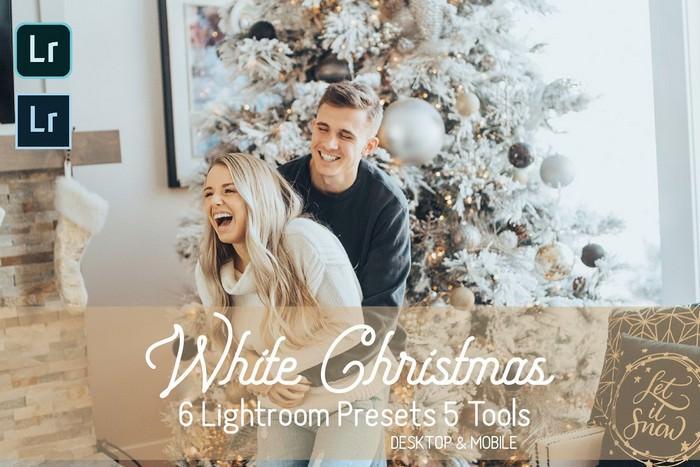 White Christmas Lightroom Presets