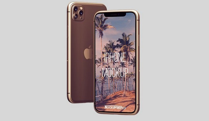 iPhone Mockup in PSD