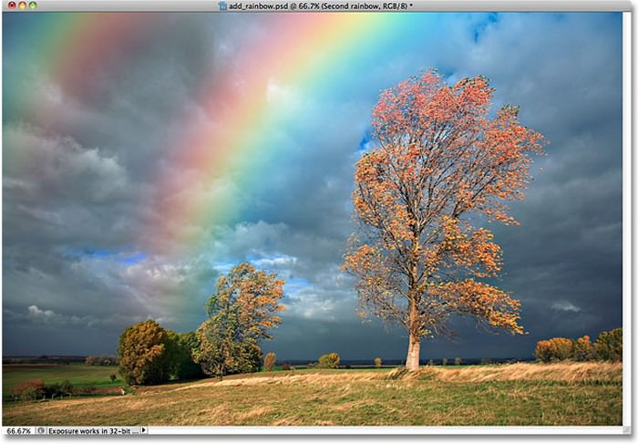 Add A Realistic Rainbow To A Photo