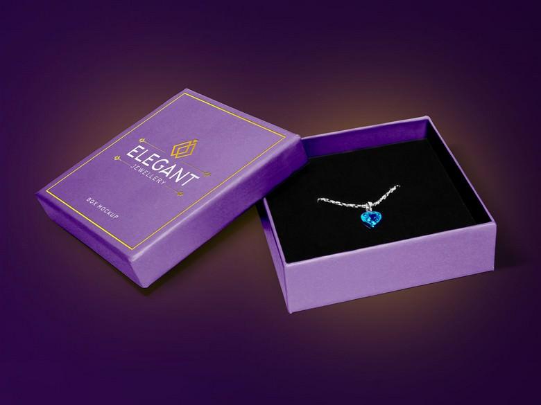 Jewelry Box Packaging Mockup Free