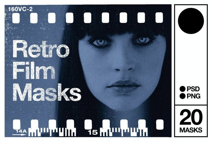 Retro Photo Masks