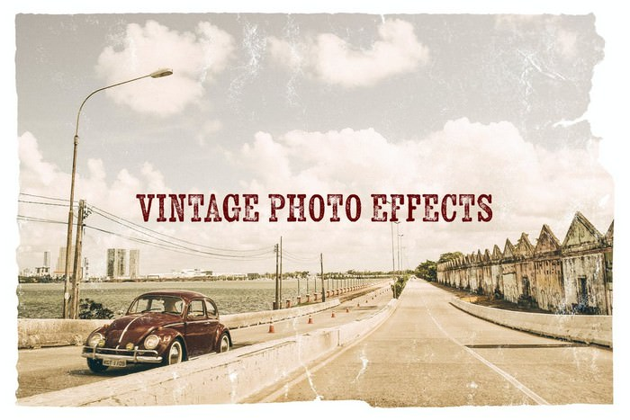 Vintage Photo Effects Photoshop