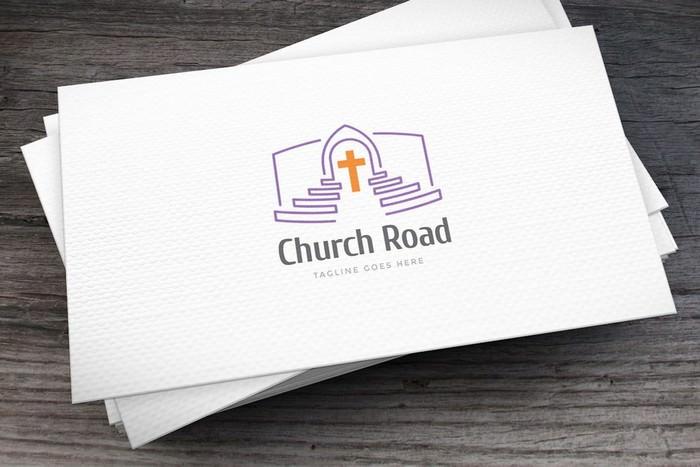 Church Road Logo Template