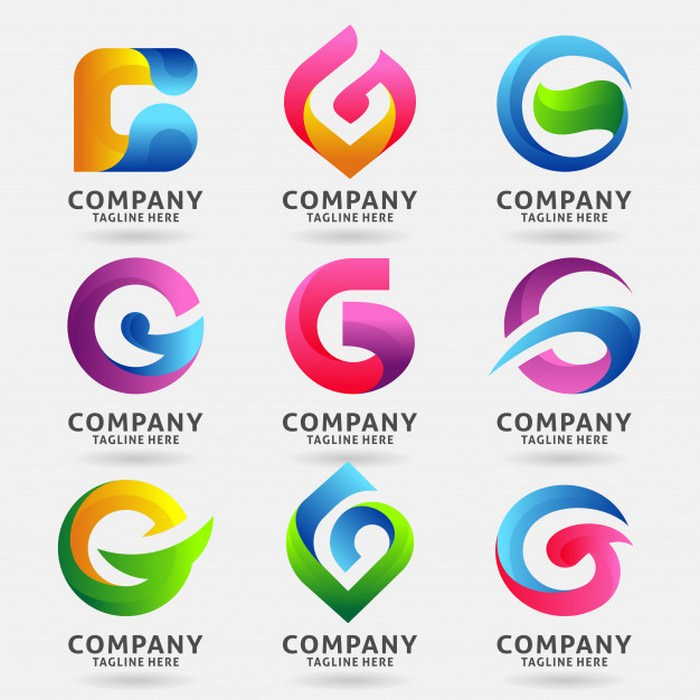 Collection of Letter G Modern Logo Template