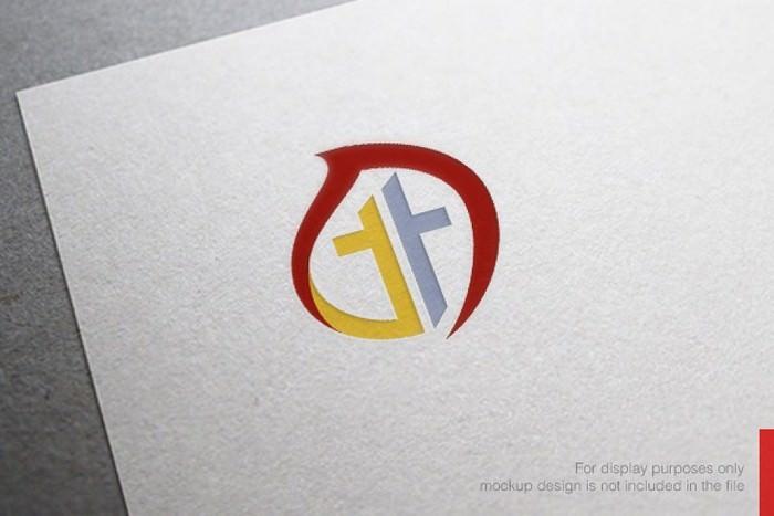 Awesome Fire Church Logo Template - Ai CS6 – EPS CS10
