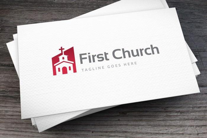 First Church Logo Template