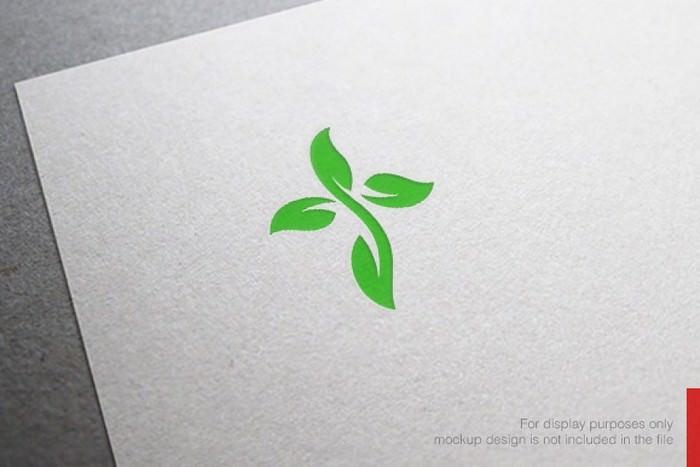 100% Vector Green Church Logo Design
