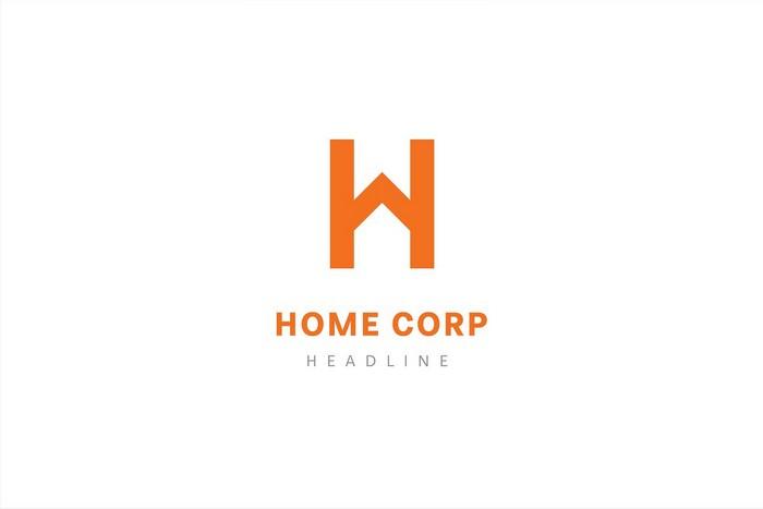 Home Corp Logo Template