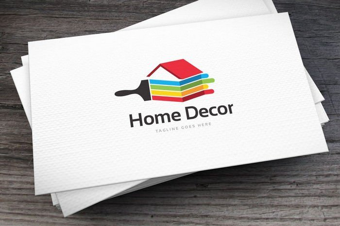 Home Decor Logo Template