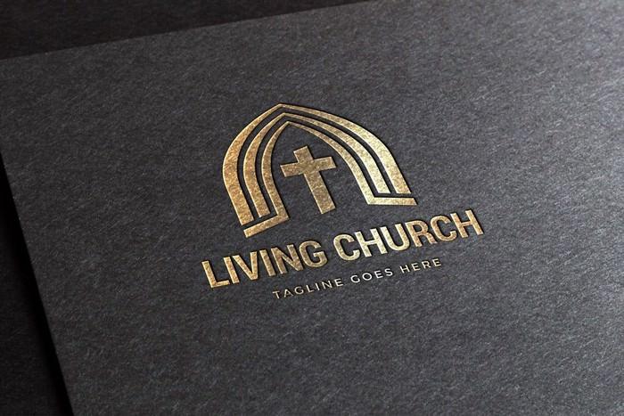 Living Church Logo Template