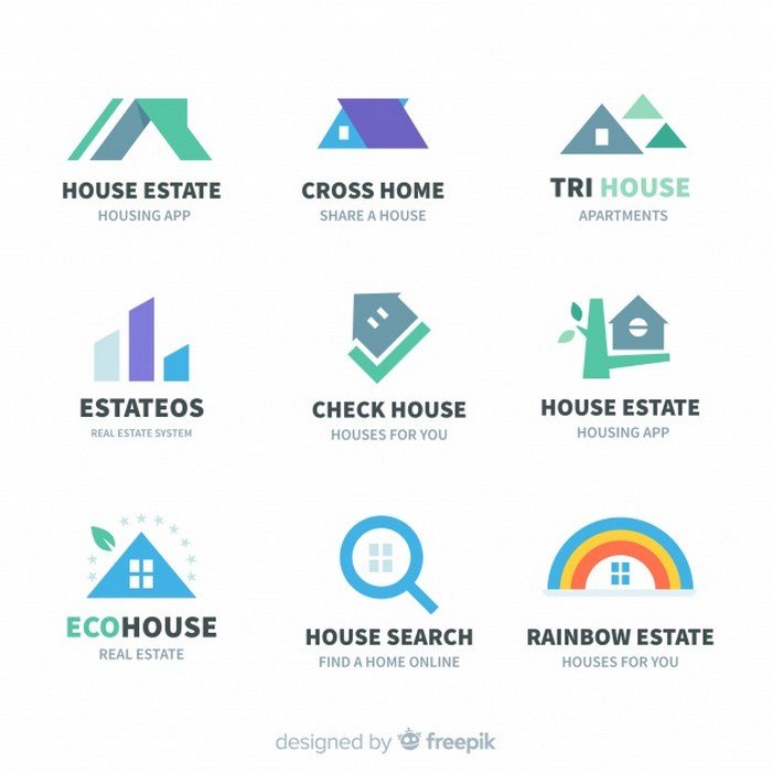 Modern Realestate Logo Collection