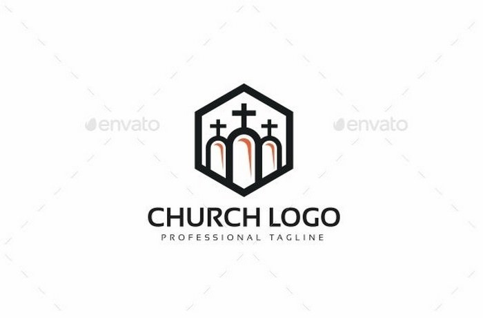 Professional Church Logo
