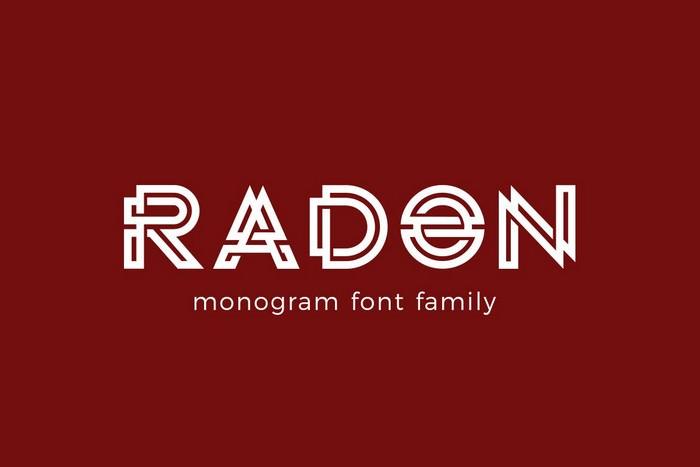 Radon monogram log