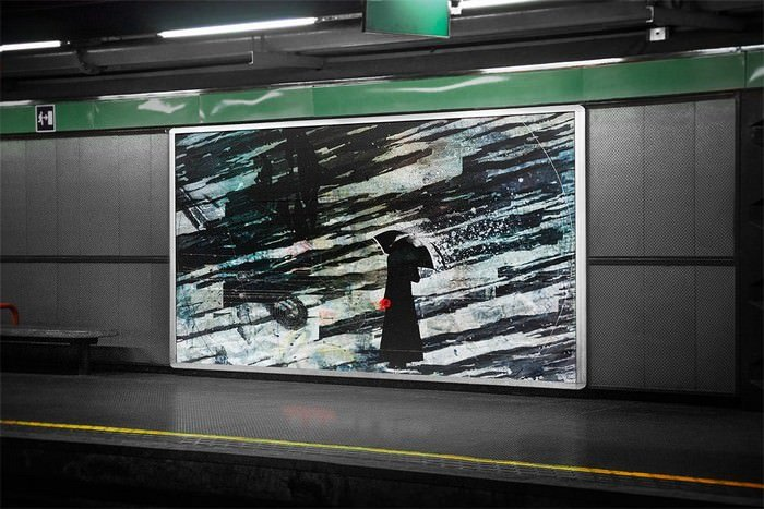 Subway Billboard Mock-up