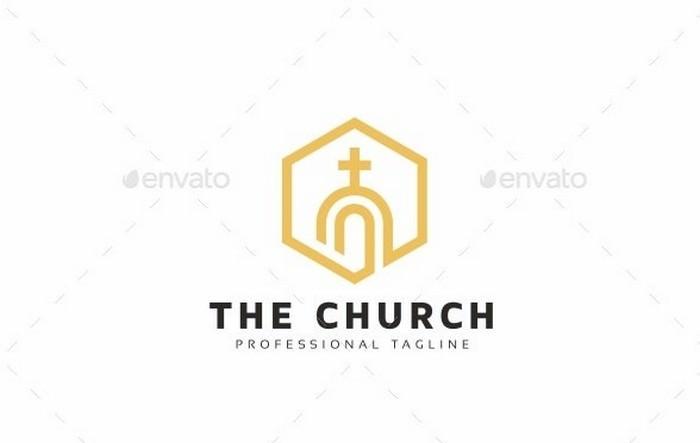 Professional Church Logo Template EPS, AI, PNG