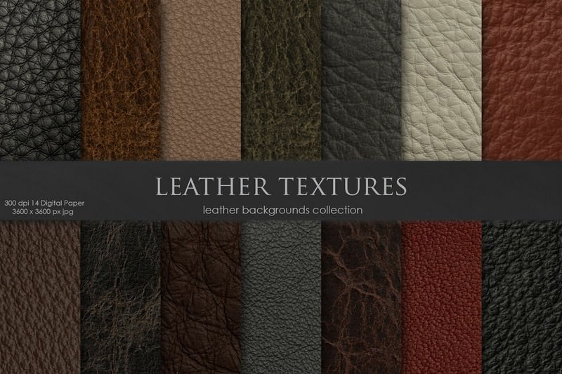 14 Leather Textures