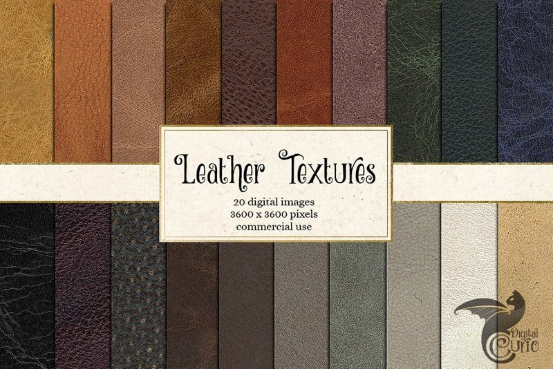 20 Leather Textures
