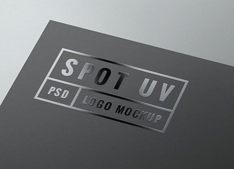 Glossy Logo PSD Mockup